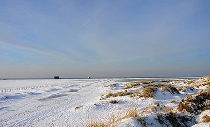 Nordseeküste Winter