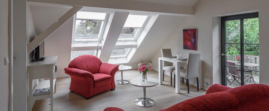 Studio-Suite mit Dachterrasse im NAKUK